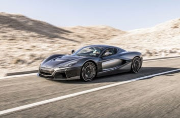 Rimac Automobili partners with Porsche.